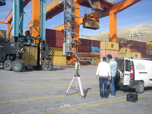 Geometrical Inspection of R.M.G. Cranes Rails P.P.A