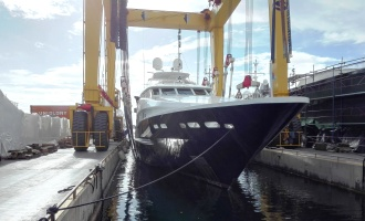 Yacht geometrical inspection – deformation monitoring
