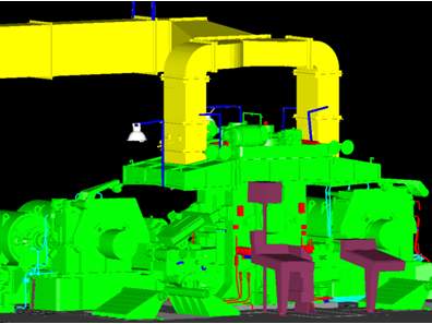 3D Scanning - 3D Modeling of industrial installations