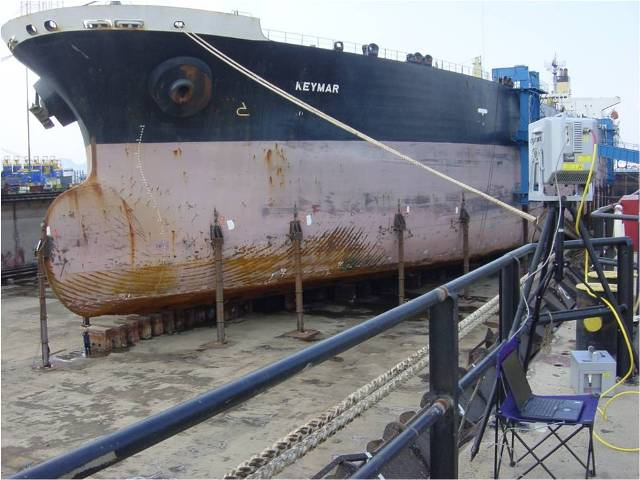 Dry docking proccess